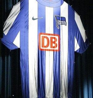 vorgestellt: Das neue HERTHA-Trikot für die Saison 2012/13