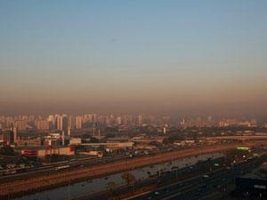 Aerial view-Sao Paulo city