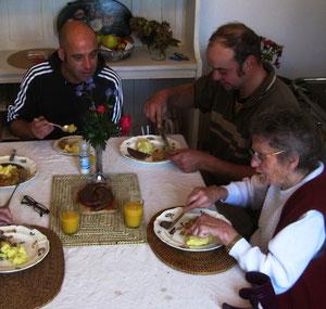 Generationsübergreifendes Miteinander im Landhaus