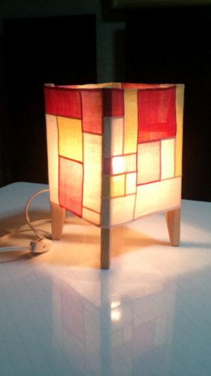 ポジャギ完成品 間接照明 日本製です