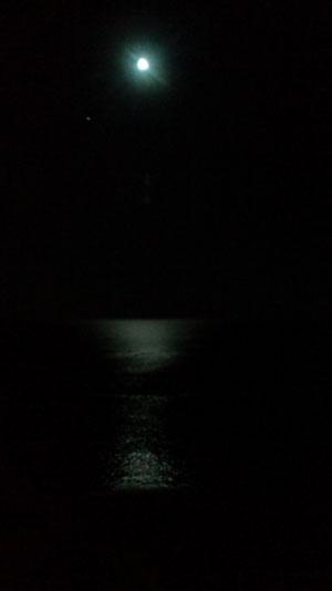 月が出た出た