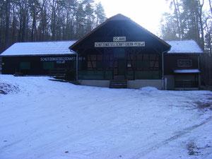 Das Schützenhaus, wunderschön gelegen am Ortsrand von Ebern