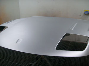 Ferrari Motorhaube