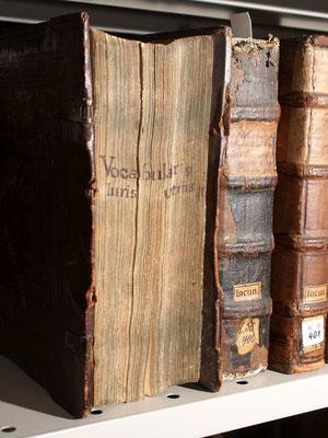 Hier würde eine Schliessenergänzung Sinn machen, um weitere Schäden am Buch zu verhindern.