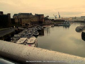Brest, la Penfeld. RLM 2013