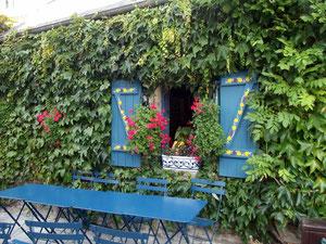 Une crêperie de la ville close à Concarneau