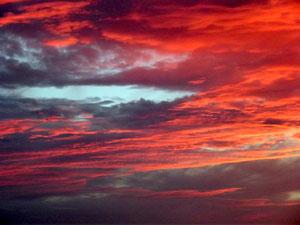 Coucher de soleil brestois, 20 août 2012
