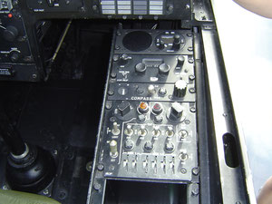 Bell 209 TAH-1F Pilots right console