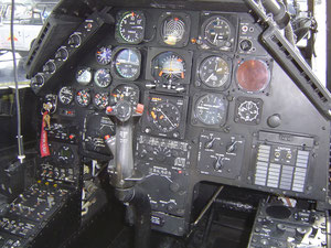 Bell 209 TAH-1F Pilots main panel