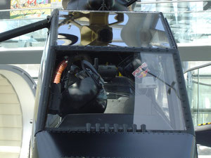 Bell 209 TAH-1F Front window