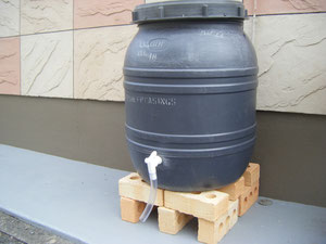 熊本 雨水タンク