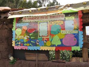 Une expression artistique à partir d'un Potager Educatif (Cusco - Pérou)