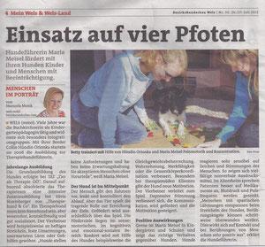 Bezirksrundschau Wels Nr. 30. 26./27. Juli 2012