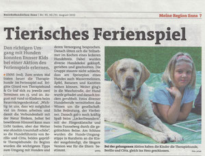 BezirksRundschau Enns/Nr. 35, 30/31 August 2012