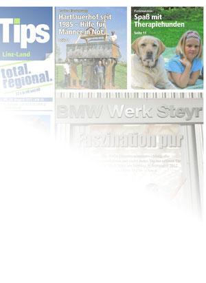 Tips Linz-Land, Deckblatt 29.08.2012