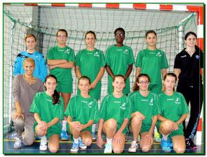 -14 filles Championnat départemental