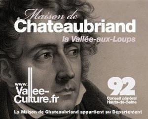 Maison de Chateaubriand, à Châtenay-Malabry