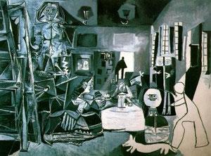 """""""Las meninas"""" de Velázquez reinterpretadas por Picasso"""