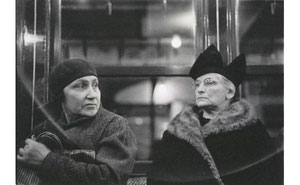 Subway Passengers, New York, 1938