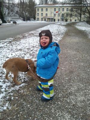 Schnee-Azug