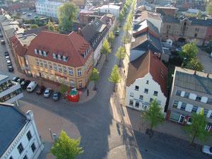 Blick in die Wismarsche Straße
