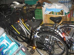 自転車の提供