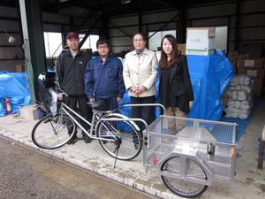 2011.4.22自転車寄付