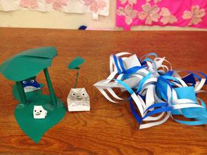 折り紙で作るトトロ