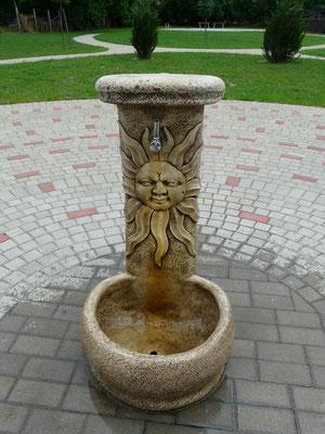 Trinkwasserbrunnen in Öttömös
