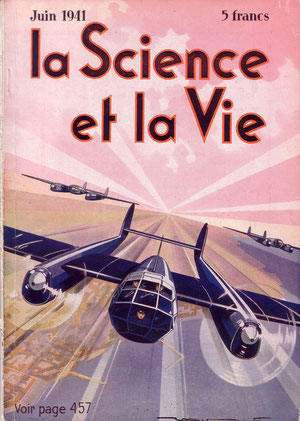 couverture de La science et la Vie de  juin 1941