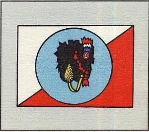 Insignes des escadrilles du GR II/55 dans lequel servit Dugnat en mai et juin 1940