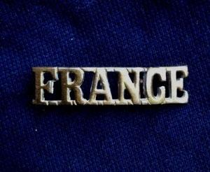 Bandeau France d'Esquilat collection de Vincent Lemaire