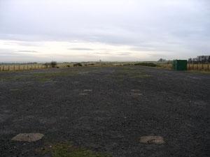 vestiges de la base de Morpeth et du runway 23