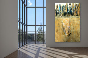 moderne Bilder, Gemälde, Bilder, gespachtelt, Modern Art, Abstrakte Kunst, Malerei, Original Bild, Unikat, Acrylbilder Rot,