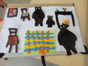 L'histoire boucle d'or et les trois ours (classe de Grande section/CP).