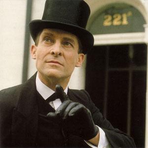 Jérémy Brett en Sherlock Holmes