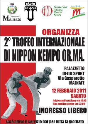 2ème compétition intrenationale en Italie 2011