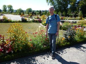 Im Rokokogarten in Veitshöchheim, Franken
