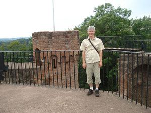 Auf der Burg Montclair bei Mettlach