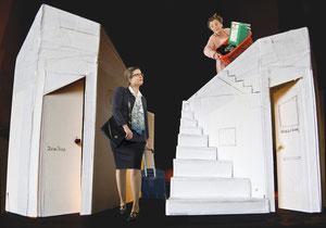 """""""DINGDONG"""" Wiederaufnahme mit Bettina Inderbitzin, 2012"""