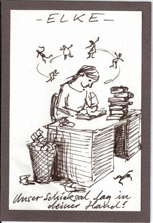 Karikatur von Simon Nickles