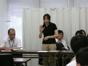 記者会見(2011年8月26日)