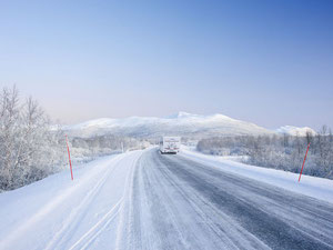 caravane hiver