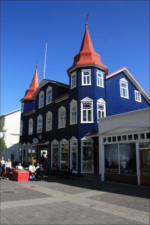Stadtbummel in Akureyri