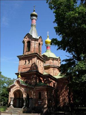 Kirche von Ventipils