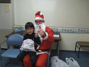サンタさんからプレゼントももらいました!