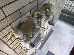 例:ドロドロのガスメーター