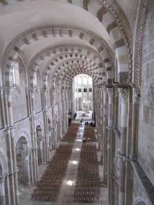 Vézelay au solstice d'été