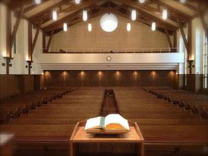 関西学院初等部の礼拝堂