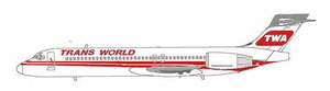 TWA Trans World Airlines/Courtesy: MD-80.net